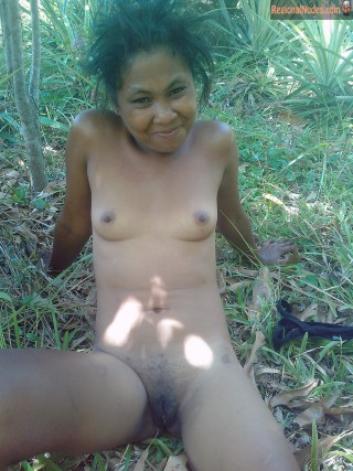Native Malagasy Nude woman in Madagascar Forest - Nude Photos